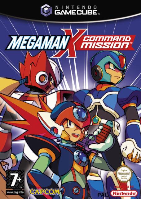 MegaMan X Command Mission (Nintendo GameCube, 2004, DVD-Box)