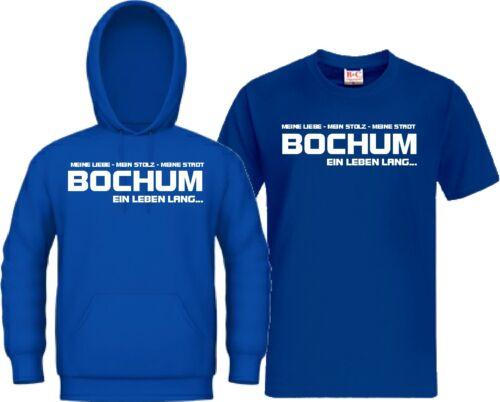 Kapu Trikot Kapuzensweat Bochum EIN LEBEN LANG Ultra Zebra Hoodie T-Shirt