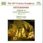 Karl Ditters von Dittersdorf - Carl Ditters von Dittersdorft: Sinfonias on Ovid's Metamorphoses Nos. 1-3 (1996)