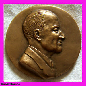 MED1513-MEDAILLE-PR-JEAN-VAGUE-ENDOCRINOLOGIE-MARSEILLE-1931-par-D-VAGUE