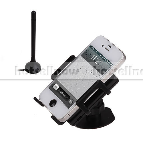 New Mobile Cell Phone Signal Booster Kit 3G WCDMA GSM 2100MHz IN Vehicle Antenna