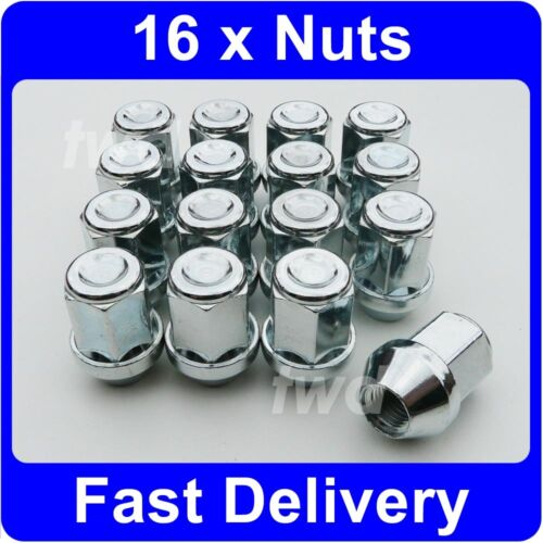 16 x ALLOY WHEEL NUTS FOR FORD FOCUS MK1 (1998-05) INC ST170 LUG BOLTS [1V]
