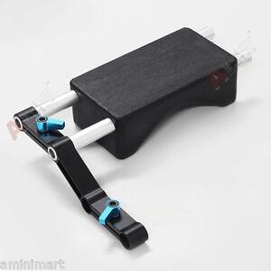 Z-Shape-Offset-Riser-15mm-Rod-Clamp-Rail-Block-Shoulder-Pad-Kit-fr-DSLR-Rig-Rigs