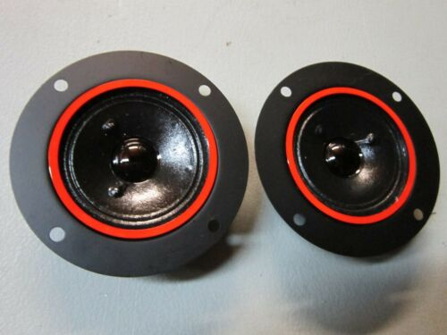 "NEW (2) 2"" Tweeters Speaker.Home Audio Pair.8 ohm.Replacement.3-1/2"" 3.5"" frame."