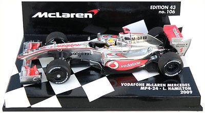 MCLAREN MP4//23 2008 L.HAMILTON FORMULA F1 SALVAT IXO 1:43