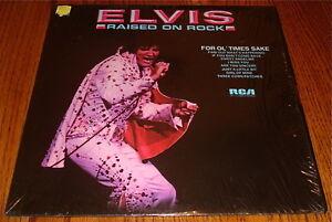 ELVIS-PRESLEY-Raised-On-Rock-Original-Orange-Label-Dynaflex-LP-Still-In-Shrink