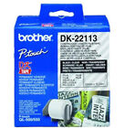 BROTHER QL500/550RUBAN 62MM N/TRANSPAREN für Brother Drucker