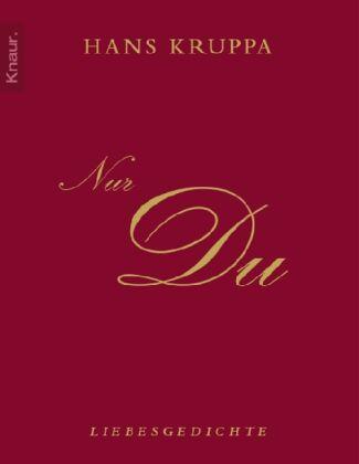 Kruppa, Hans - Nur du: Liebesgedichte /4