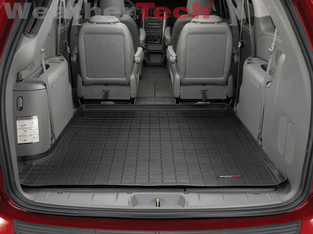 WeatherTech Cargo Liner for Grand Caravan/Town & Country - 05-07 - Large - Black