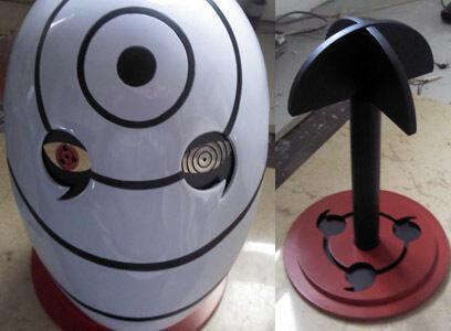 Naruto Uchiha obito Tobi Mask Cosplay Madara Maske masque halloween sharinngann