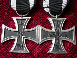 Replica-Copy-aged-WW1-Imperial-Iron-Cross-2nd-Class-Medal-moulded-from-original
