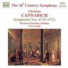 Christian Cannabich - : Symphonies Nos. 47-52 (1999)