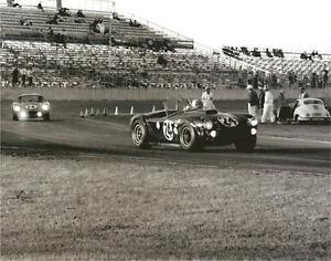 Vintage-8-X-10-Daytona-1964-Cobra-Cobra-Coupe-Auto-Racing-Photo