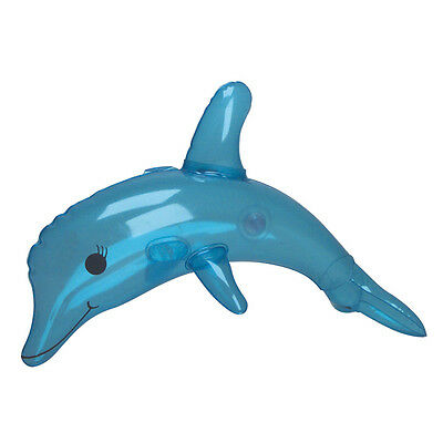 13 INCH PARTY INFLATABLE DOLPHIN WATER BLOW UP SEA ANIMAL INFLATE NOVELTY TOY