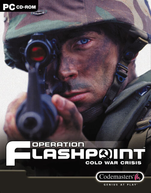 Operation Flashpoint: Cold War Crisis (PC, 2001, DVD-Box)