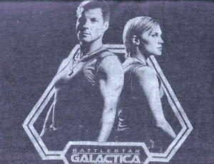 New-Battlestar-Galactica-Apollo-amp-Starbuck-Duo-Shirt-XL