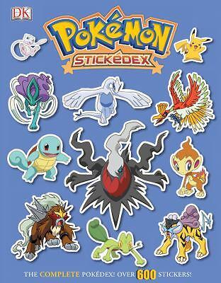 Pokemon Stickedex By Dorling Kindersley Publishing Staff And Pokemon