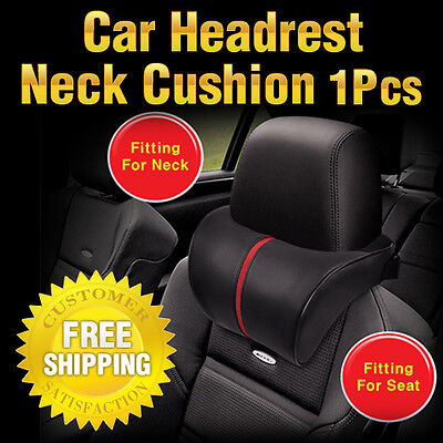 SRX Stream Line Car Seat Headrest Neck Cushion For Hyundai 11-14 Accent Verna