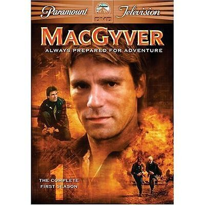 MacGyver Season 1 - DVD  - 6 DISC SET RICHARD DEAN ANDERSON Brand New Sealed