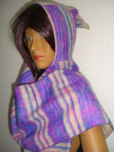 Damenschal Winterschal Goa Hippie Z Schal,Kapuzenschal,Zipfelkapuze,Zipfelmütze