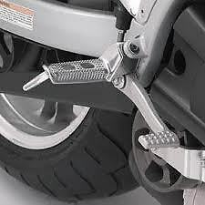 N0006.1AD Buell Rider Footpeg (Pair) Kit for XB Models. (L19B)