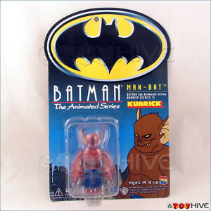 Batman-Kubrick-Medicom-Batman-The-Animated-Series-Man-Bat-series-1-on-card