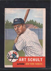 1953 Topps Art Schult #167 Baseball Card