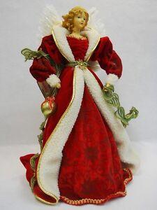 Lighted Angel Christmas Tree Topper