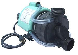 Bathtub Pump 3 4hp W Air Switch Amp Cord 115volts Pre