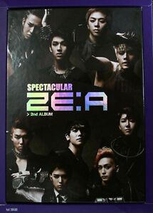 ZE-A-ZEA-Spectacular-2nd-Album-CD-Photobook-Poster-Free-Gift