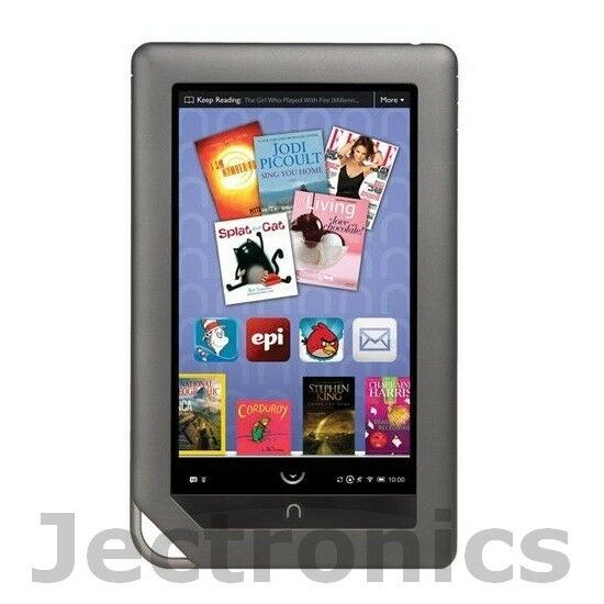 New Open Box Barnes & Noble NOOK Color 8GB Wi-Fi 7in eReader Tablet - Silver