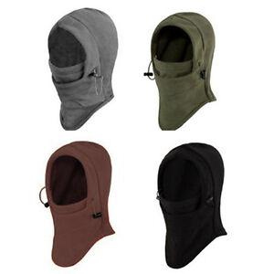 ... fleece-6-in1-Balaclava-Hood-Police-Bike-Wind-Stopper-Face-Swat-Ski