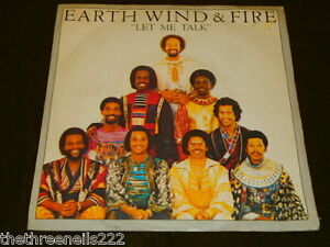 VINYL-7-034-SINGLE-EARTH-WIND-AND-FIRE-LET-ME-TALK-8982