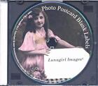 Vintage Photo Blank Labels : 100 Printable Labels, Tags and Frames Created from Vintage Photos and Postcards (2007, CD-ROM)