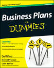 Business Plans For Dummies by Colin Barrow, Steven D. Peterson, Paul Tiffany (Paperback, 2012)