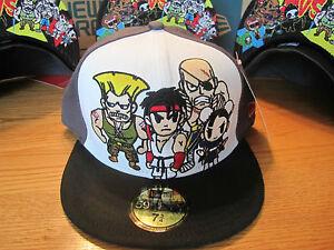 Tokidoki-Street-Fighter-New-Era-Hat-New-York-Comic-Con-59Fifty-NWT