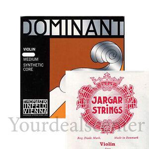 Dominant Violin String Set 4/4 /Jargar Loop E Forte