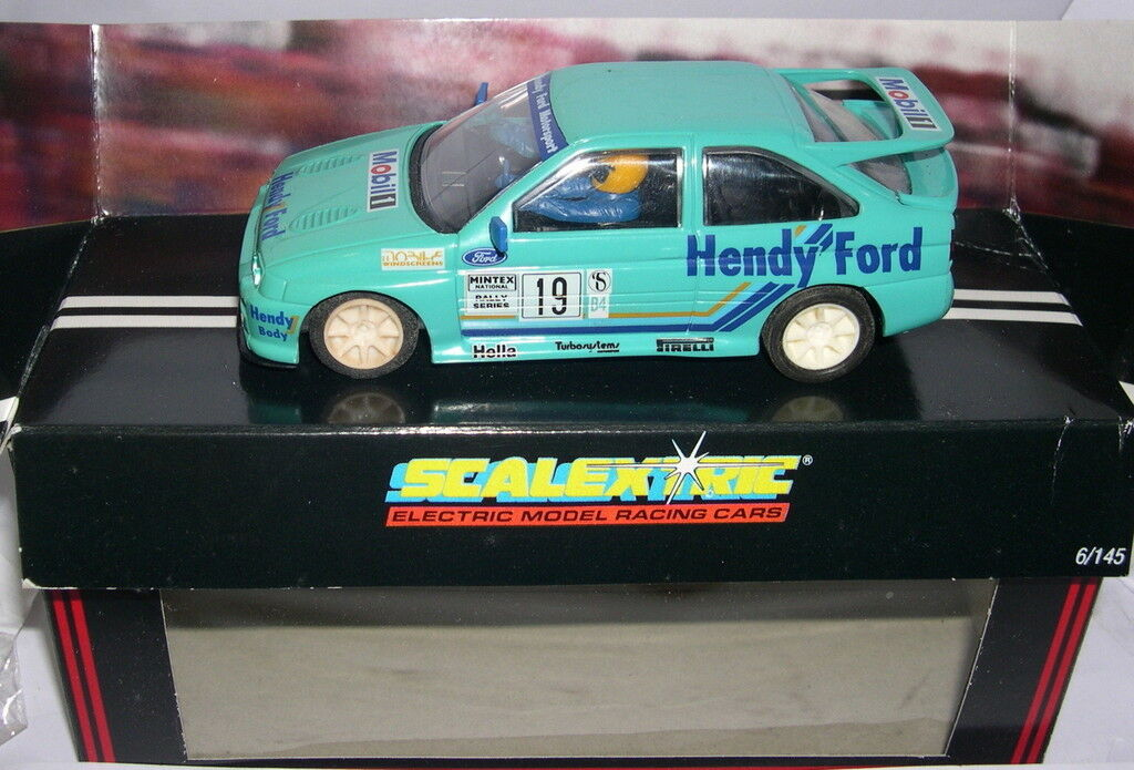 Carnaval ultime, le prix prix prix ultime SCALEXTRIC C403 FORD ESCORT COSWORTH 19 HENDY MB 1f0767