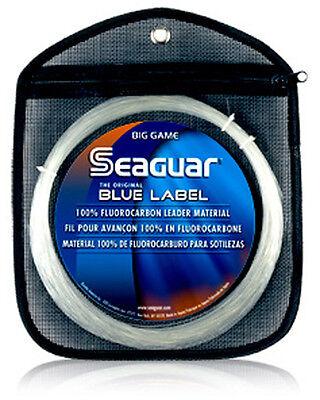 Seaguar Blue Label Flourocarbon Leader Big Game!
