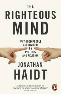 NEW-Righteous-Mind-TheReligion-The-By-Jonathan-Haidt-Paperback-Free-Shipping