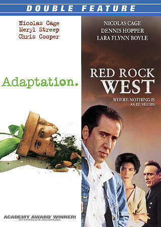 Nicolas Cage Double Feature [Adaptation / Red Rock West]