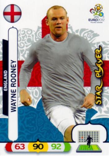 Panini euro 2012 Adrenalyn XL Star Player escoger//to choose /& gt parte 1