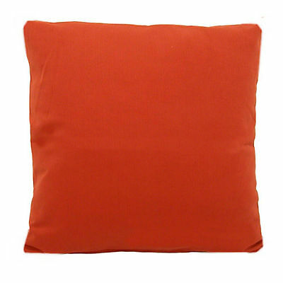 """2 x Cotton Drill Cushion Covers or Cushions with inner pad 16"""" 18"""" 20"""" 22"""" 24"""""""