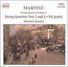 Bohuslav Martinu - Martinu: String Quartets Volume 1 (2000)