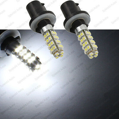 2X 36SMD High Power Xenon White 880 881 LED Bulbs For Car Fog Lights or Driving