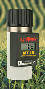 Agratronix-Grain-moisture-tester-rice-corn-wheat-barley-oat-MT-16-MT16-USA