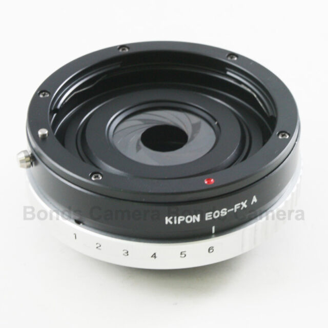 Kipon Canon EOS EF mount lens to Fujifilm X-Pro1 E1 FX Adapter Build in Aperture