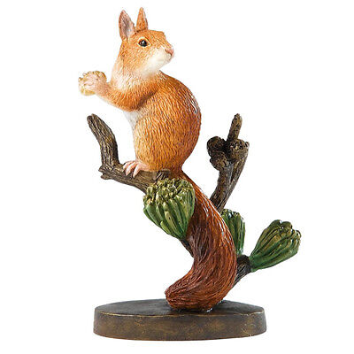 BORDER FINE ARTS WILDLIFE *RED SQUIRREL & ACORN* NEW BOXED A20076 RRP: £19!