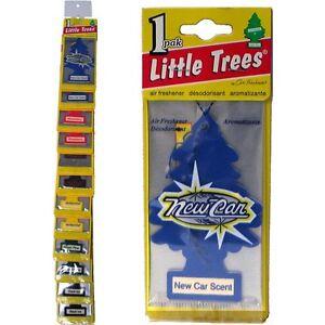 little trees hanging car home air freshener 12 packs classic assorted scent ebay. Black Bedroom Furniture Sets. Home Design Ideas