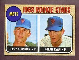 1968 Topps Nolan Ryan 177 Baseball Card